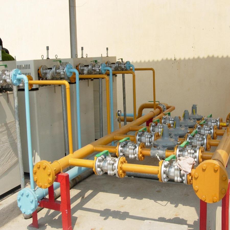 Hệ thống gas trung tâm