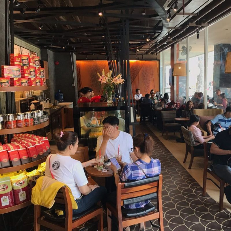 chuỗi quán Highland Coffee 1