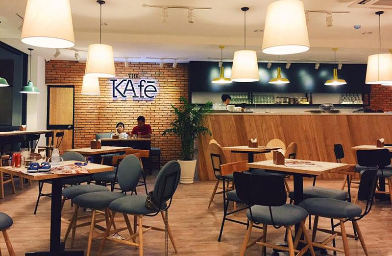Toàn Phát - Thi công & thiết kế quầy bar cho chuỗi quán The Kafe