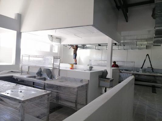 Thi công & lắp đặt hệ thống bếp cho Công ty TNHH Hàm Tân Thế Kỷ 21