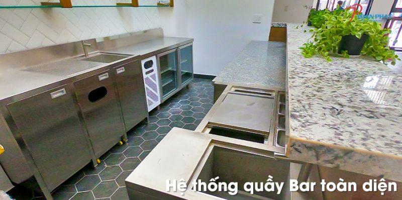 Đặc điểm của tủ lạnh quầy bar
