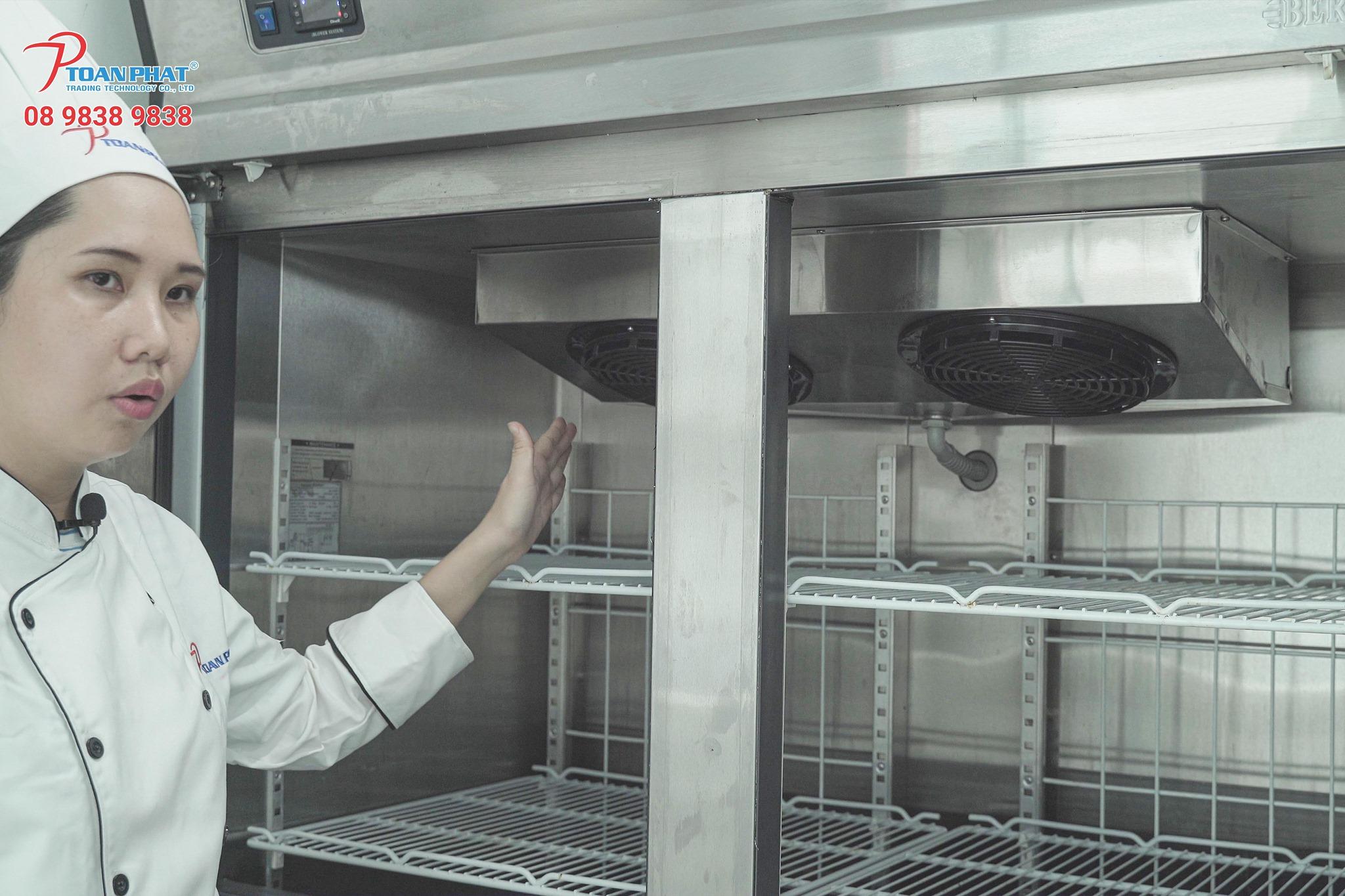 Ưu điểm của tủ lạnh trưng bày PK INTERTRADE 2 cánh MD2-CL