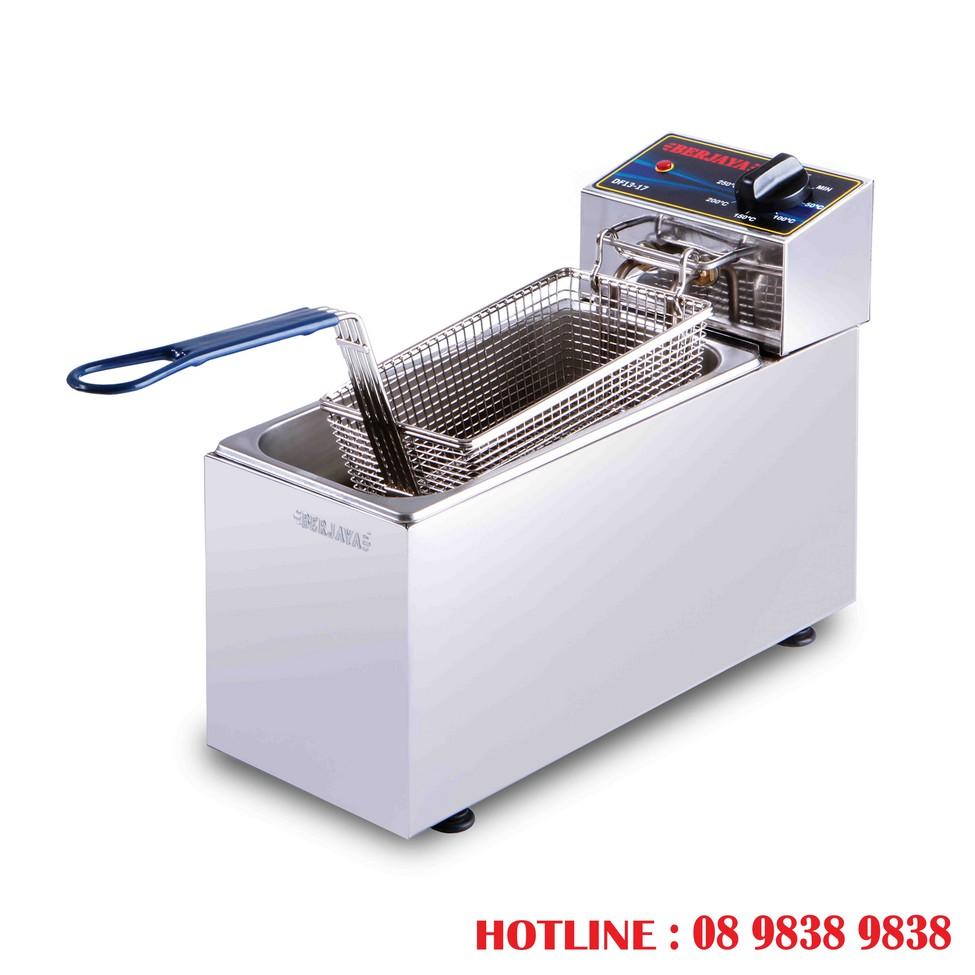 Bếp chiên nhúng điện đơn (6 lít, 9 lít, 11 lít) - Thiết bị Bếp Công Nghiệp  Toàn Phát